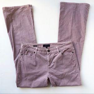 Talbots Boot Cut Stretch Corduroy Pants